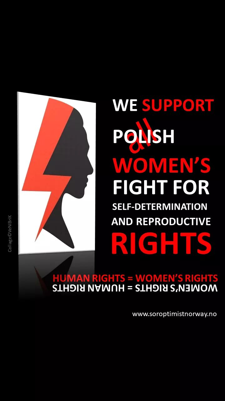 Soutien aux femmes de Pologne