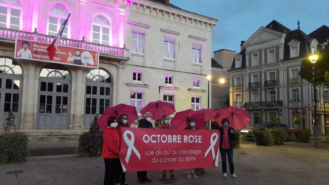 Octobre rose à Chatellerault