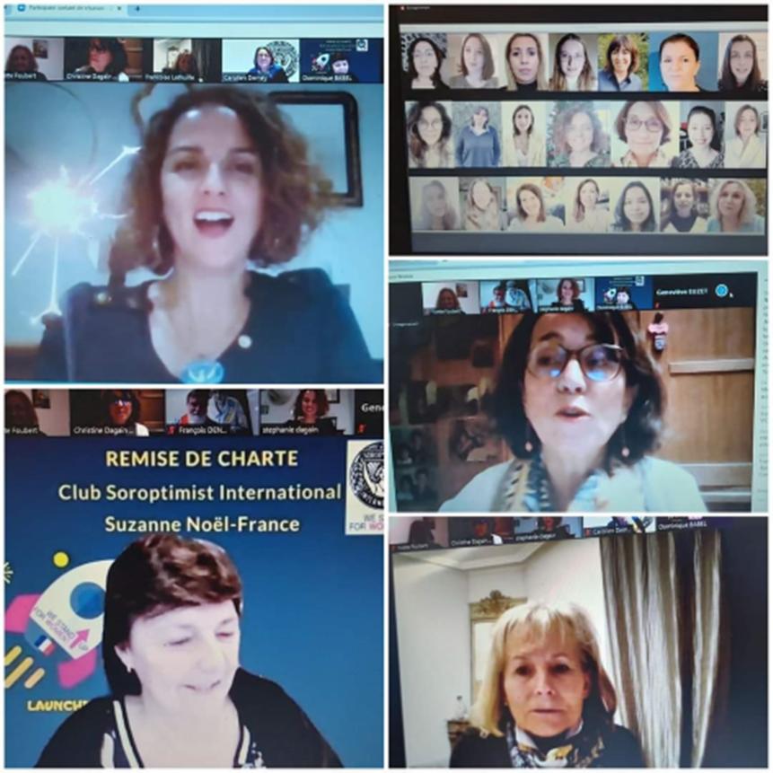 Remise de Charte au eclub Suzanne Noël France