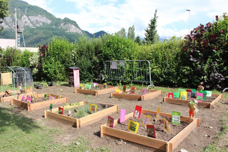 SI Mont Blanc : un jardin pédagogique pour Sallanches.
