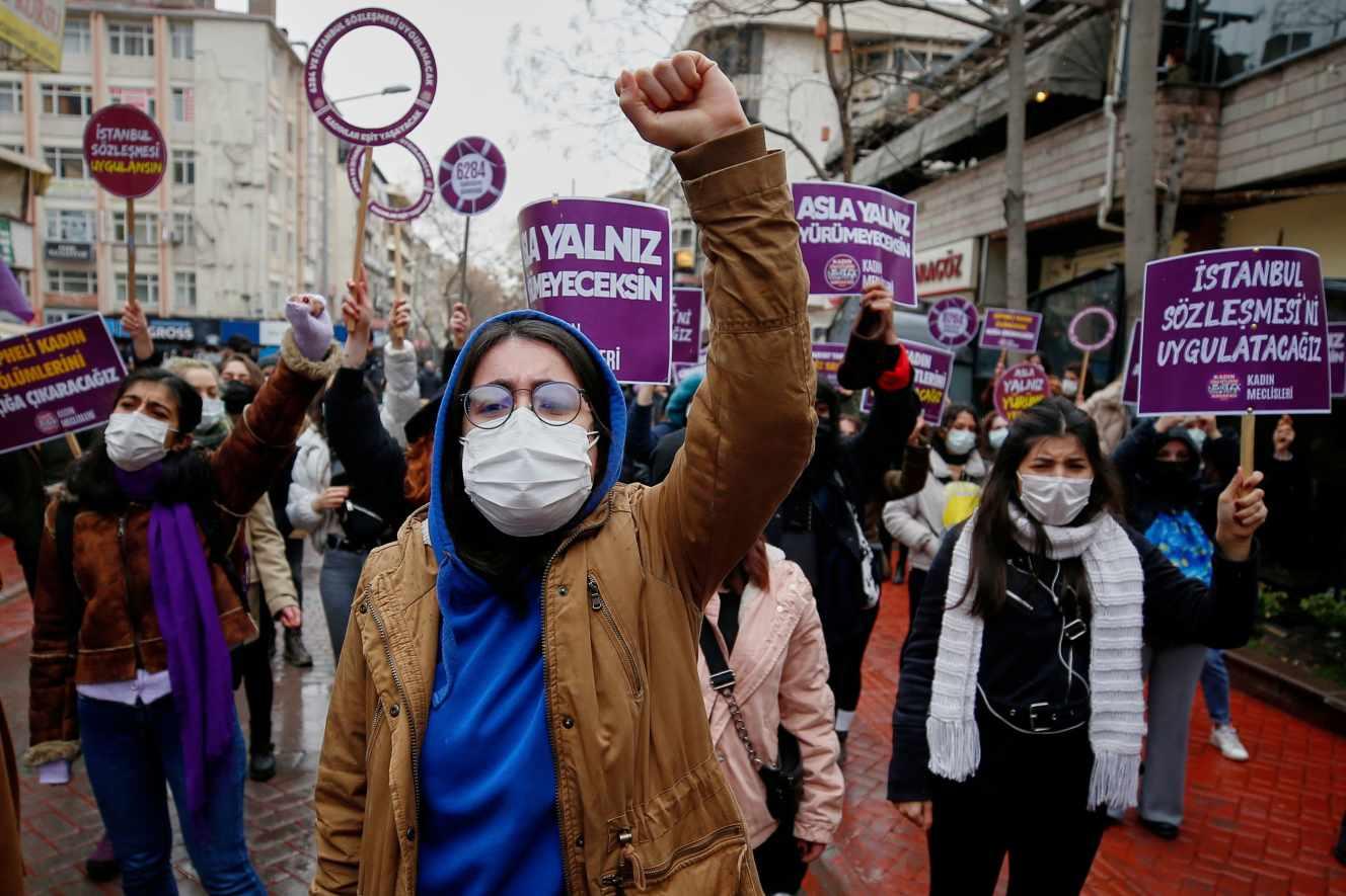 La Turquie s'est retiré  de la convention d'Istanbul contre les violences faites aux femmes