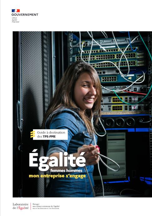 """""""Egalité entre les femmes et les hommes : mon entreprise s'engage""""."""