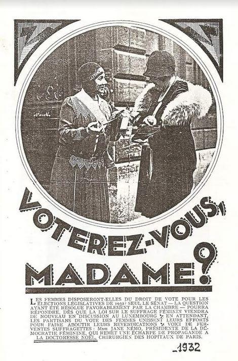 29 avril 1945 : jour où les françaises ont voté pour la 1ère fois !