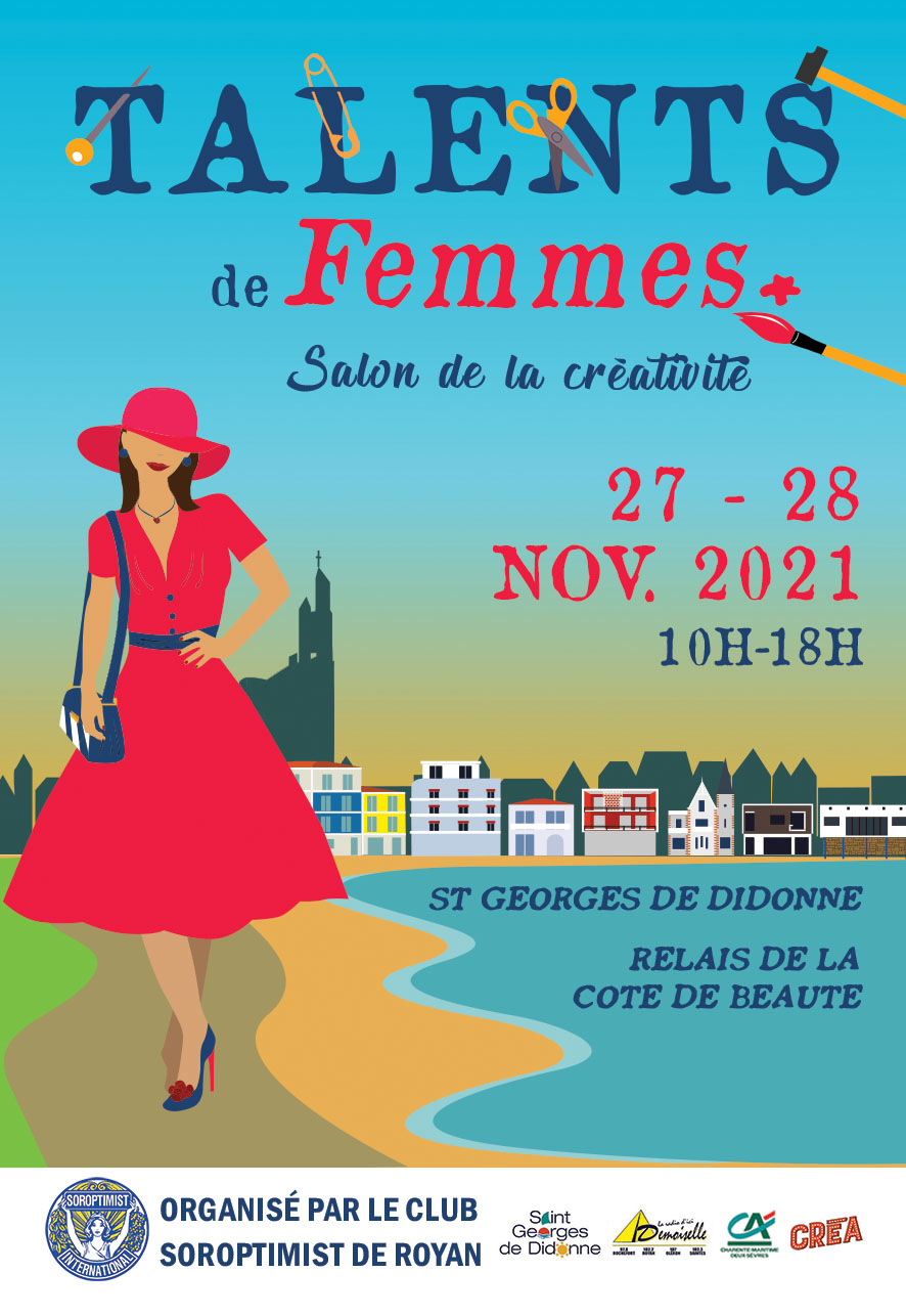 "Salon ""Talents de Femmes"" du SI club de Royan"