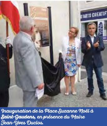 """Une place """"Suzanne Noël""""à Saint Gaudens"""