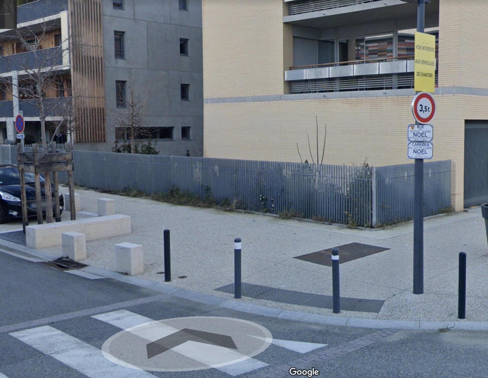 Une rue Suzanne Noël à Toulouse