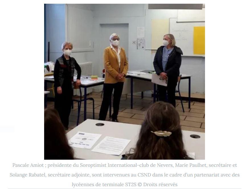 SI club de Nevers : un débat pour les terminales du Centre Scolaire Notre-Dame