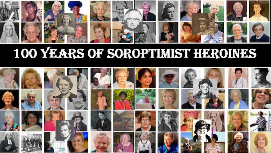 L'Union Française a fêté les 100 ans du Soroptimist International le 5 juin.