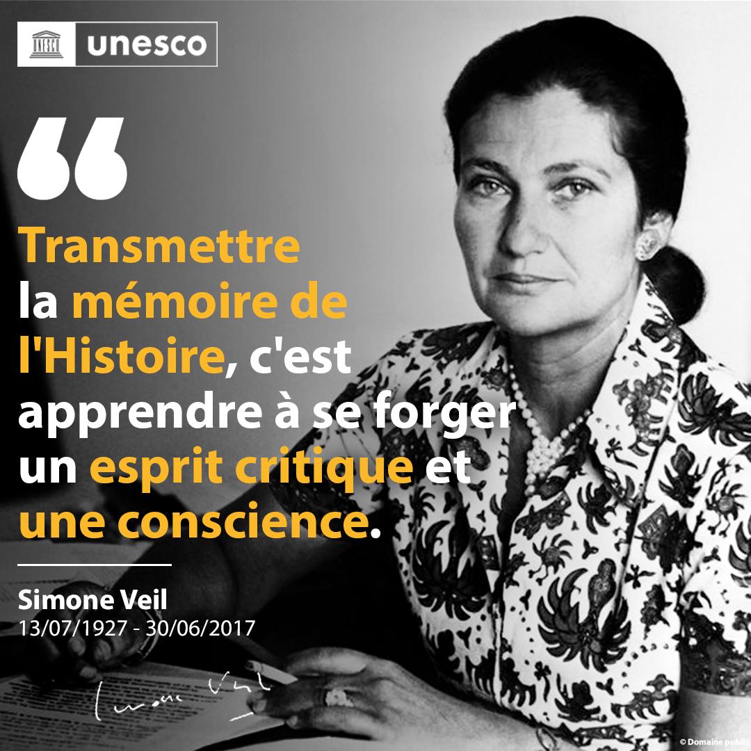 En ce 30 juin : rendons hommage à Simone Veil