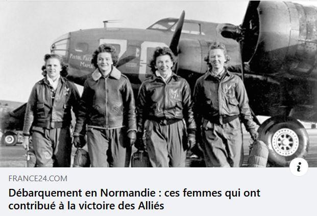 Souvent grandes oubliées de l'Histoire, les femmes ont joué un rôle primordial durant le Débarquement du 6 juin 1944 en Normandie.