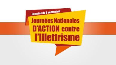 Mobilisons-nous pour les Journées Nationales d'Action contre l'Illettrisme 2021