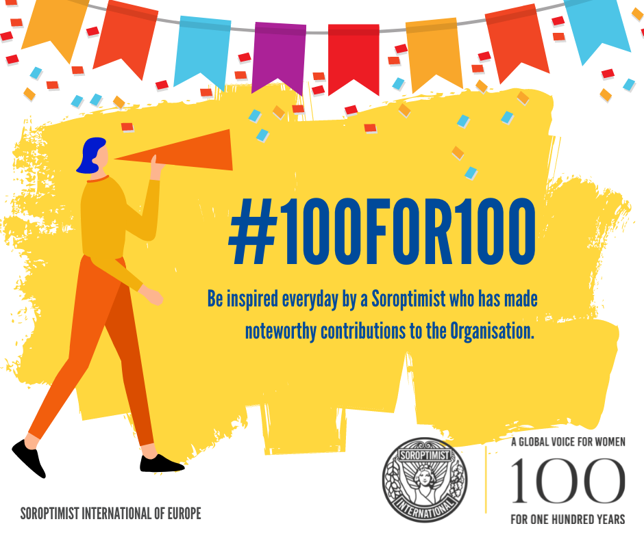 100 for 100…