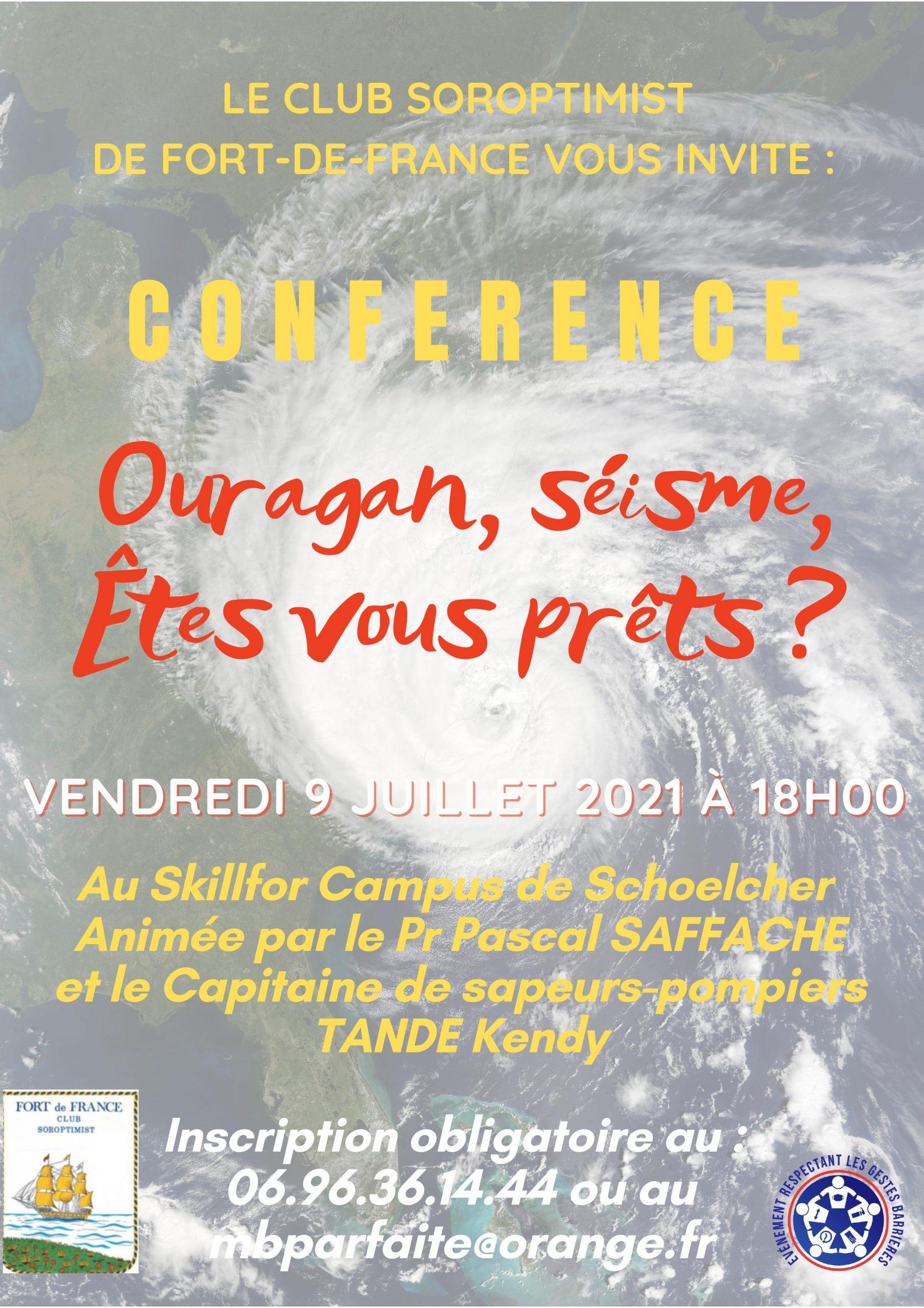 SI club Fort de France : une conférence-débat