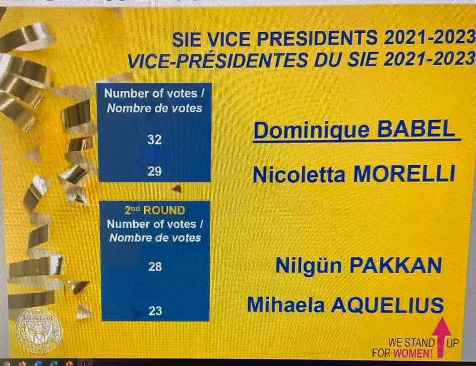 Elections SIE 2021-2023