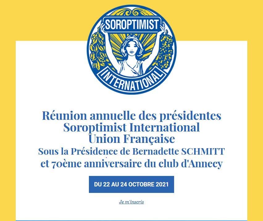Retrouvons-nous toutes à la Réunion des Présidentes !