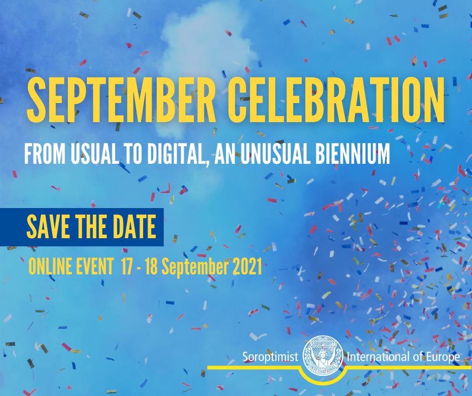 SIE : programme et liens pour la célébration de septembre