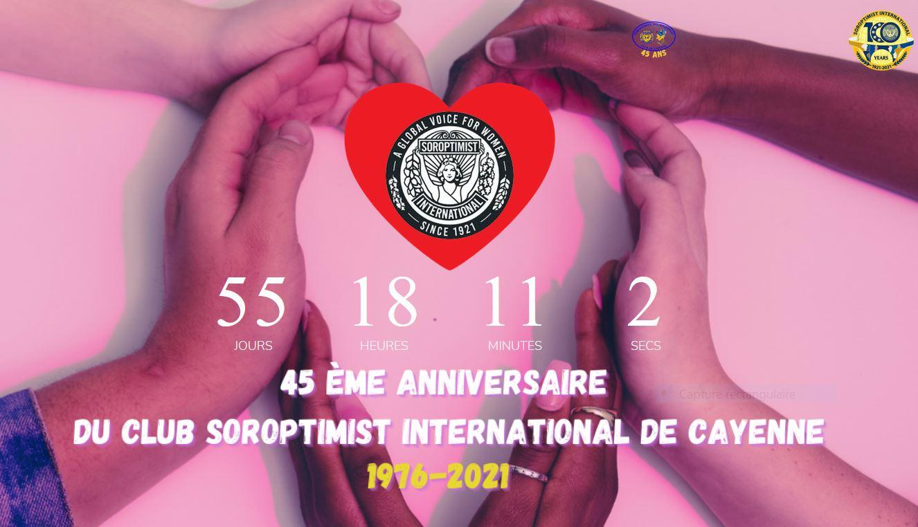 SI club de Cayenne : Bientôt 45 ans !