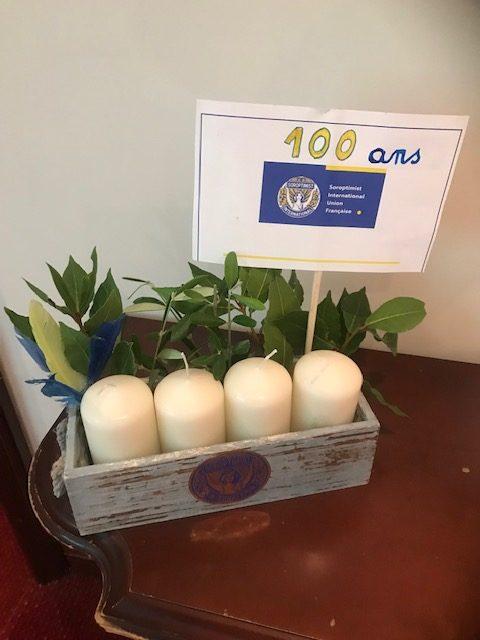 Fête du centenaire et intronisations pour le SI club de Nice Azur